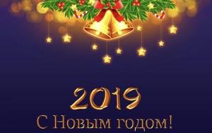 Поздравление 2019